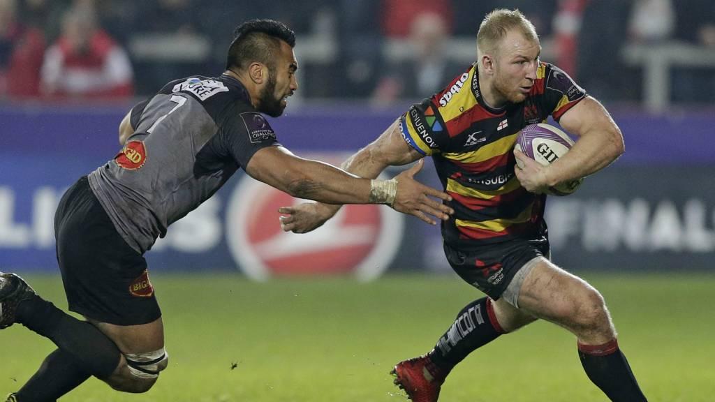 Matt Kvesic of Gloucester Rugby