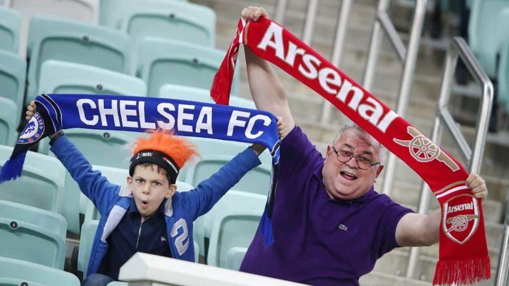 Chelsea da Arsenal