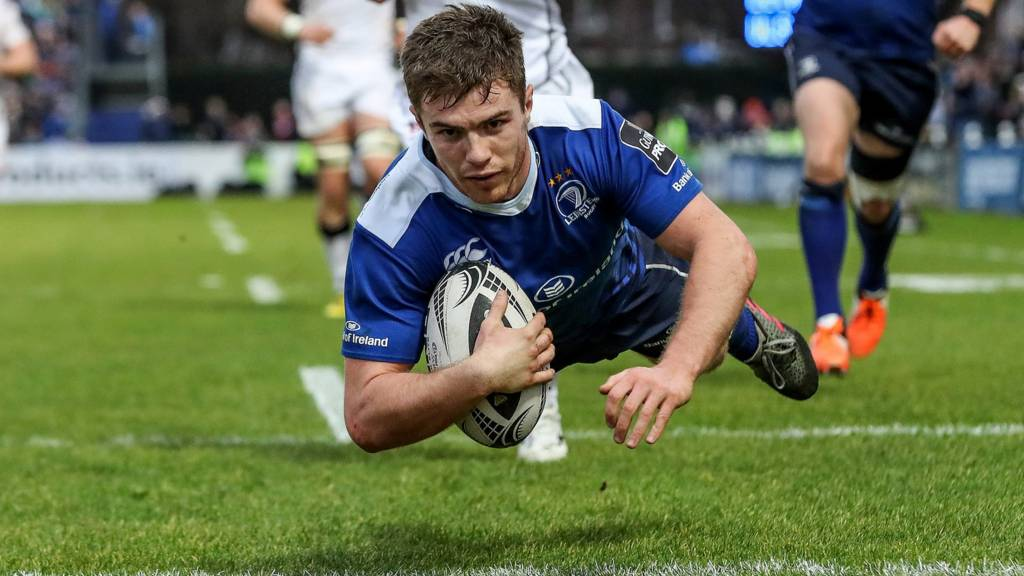 Luke McGrath scores for Leinster