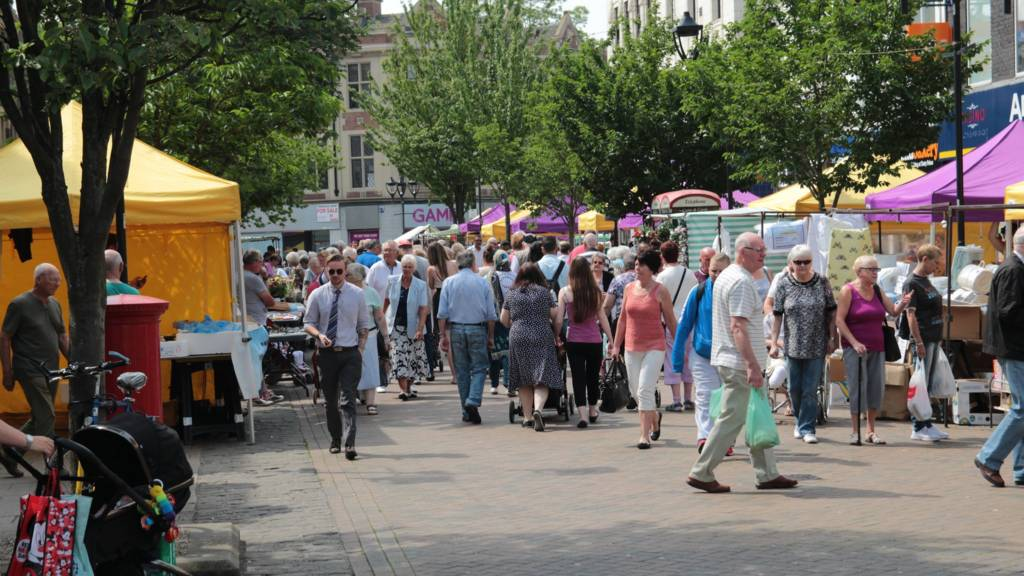 Rotherham market