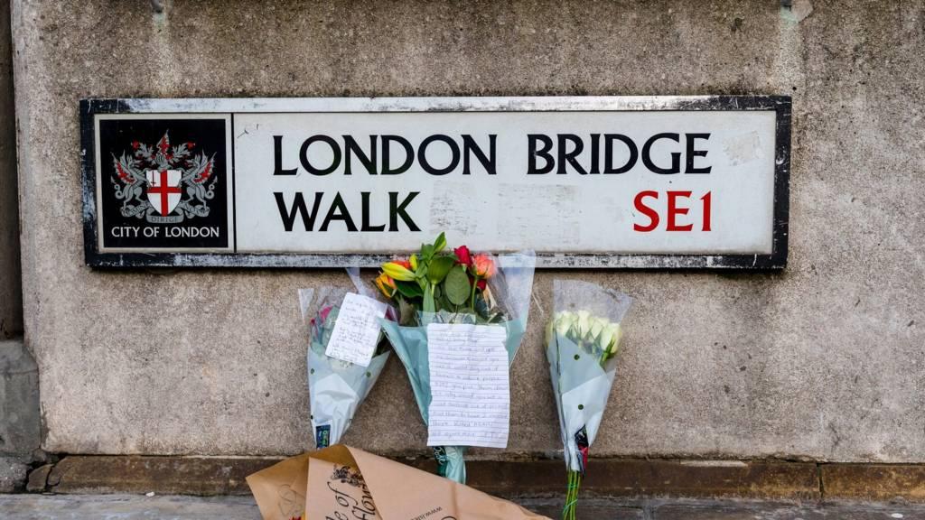 London Bridge attack: Victim's girlfriend breaks down at vigil in Cambridge