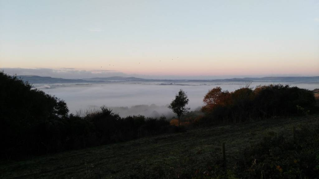 Isle of Wight fog