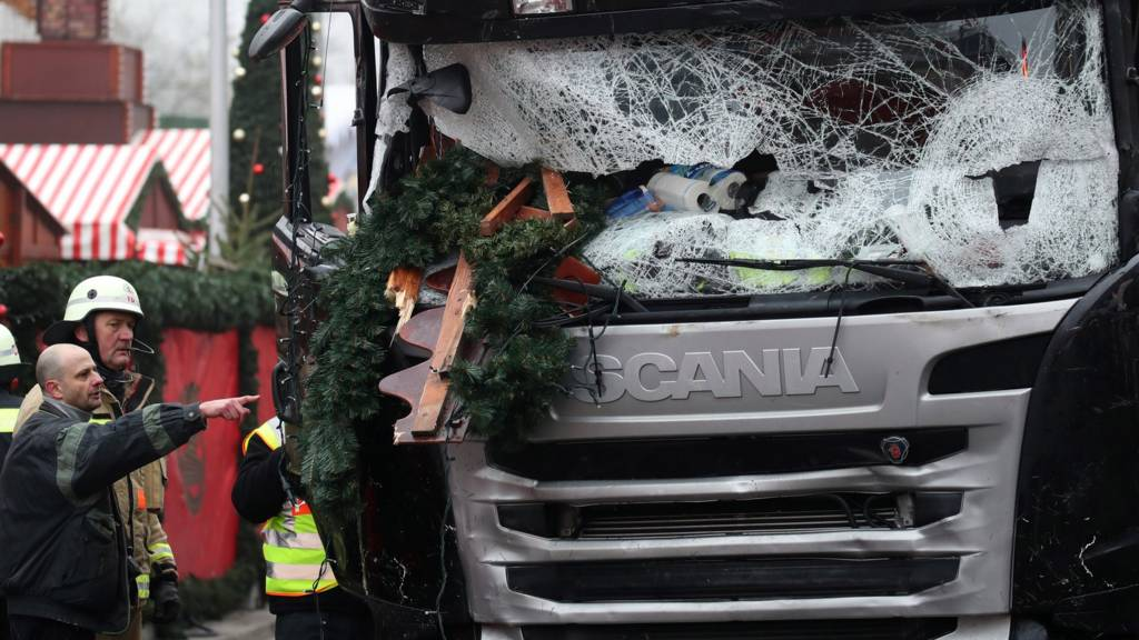 Truck used in attack on German Christmas market