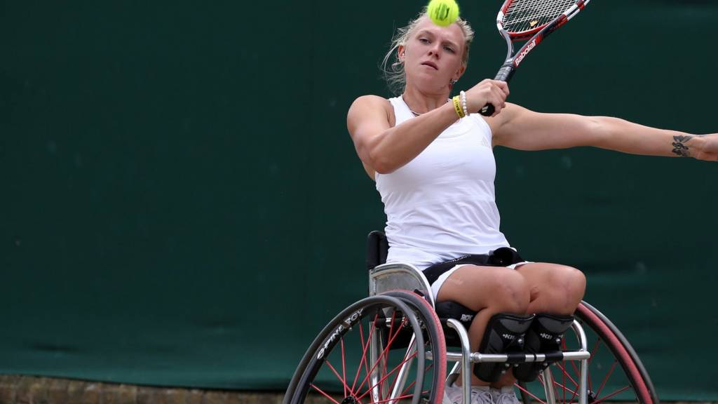 Jordanne Whiley of Great Britain