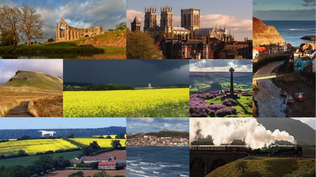 North Yorkshire montage