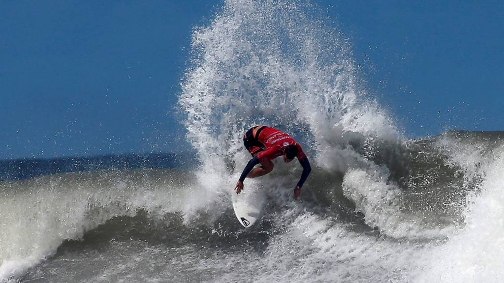 Surfer in Morocco
