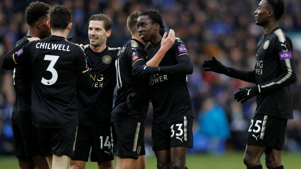 Diabate scores for Leicester