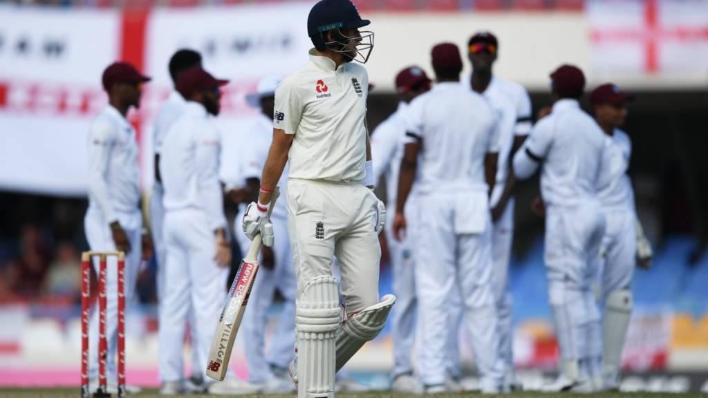 West Indies V England Second Test Antigua Day Three Live Bbc Sport