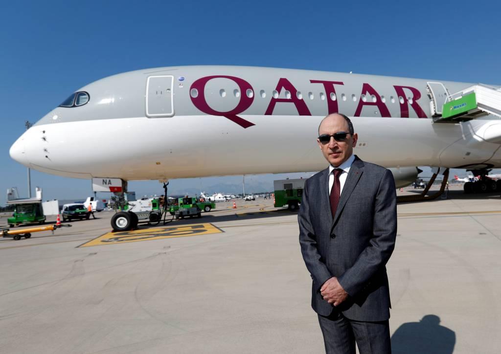 أكبر الباكر رئيس الخطوط الجوية القطرية