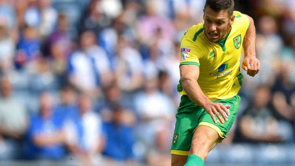 Wes Hoolahan of Norwich City