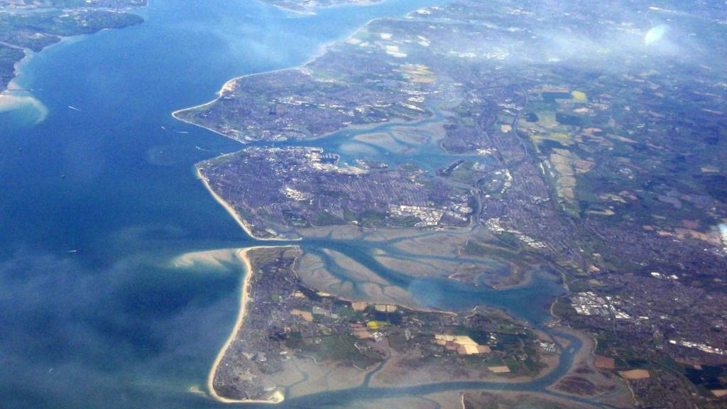 Hayling Island, Portsea Island and Gosport