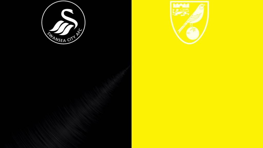 Swansea v Norwich badges