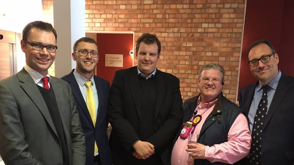 Candidates in Watford