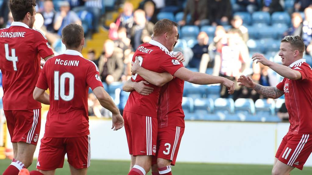 Aberdeen lead at Rugby Park