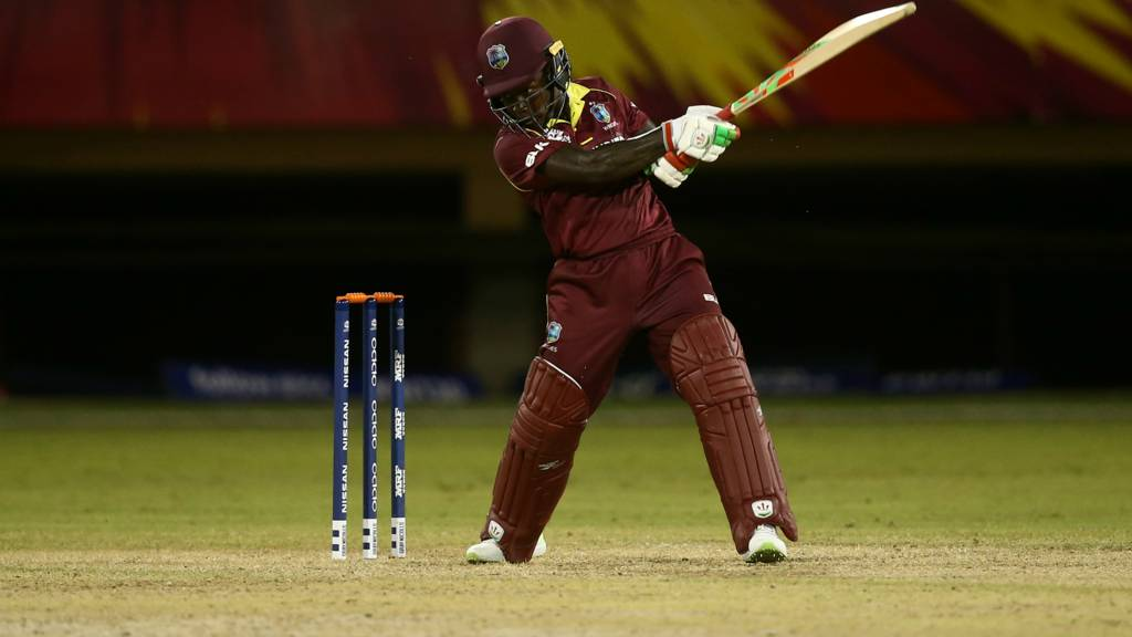Deandra Dottin of the West Indies