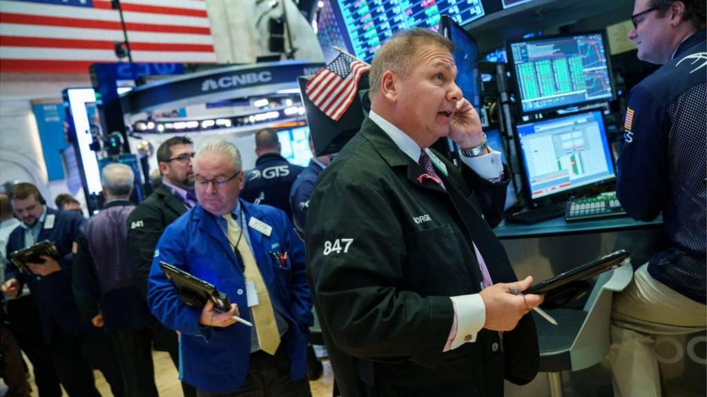 Wall Street traders