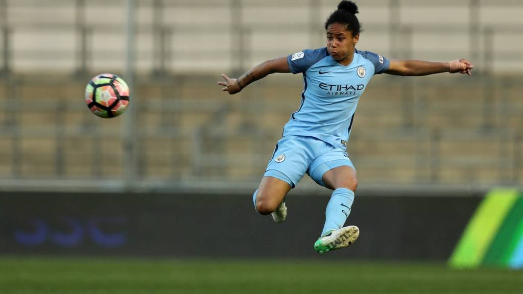 Man City's Demi Stokes