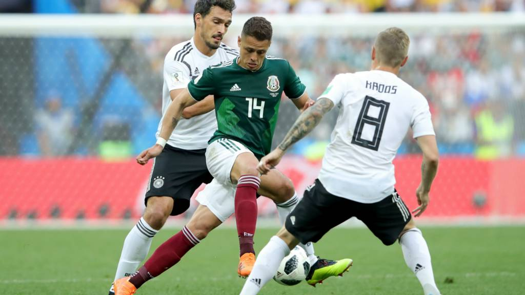 Germany v Mexico