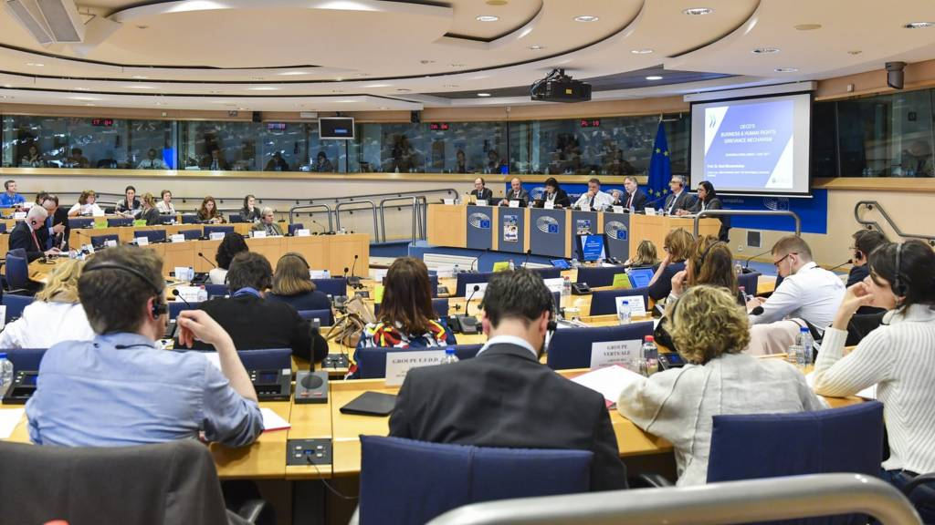 Joint committee meeting at the European Parliament