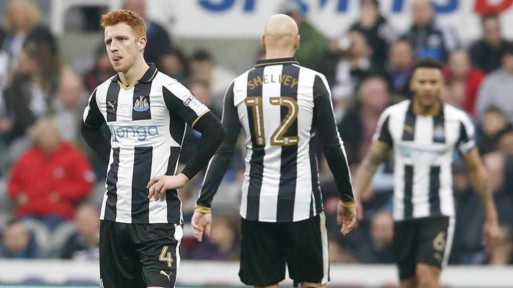 Newcastle disappointment