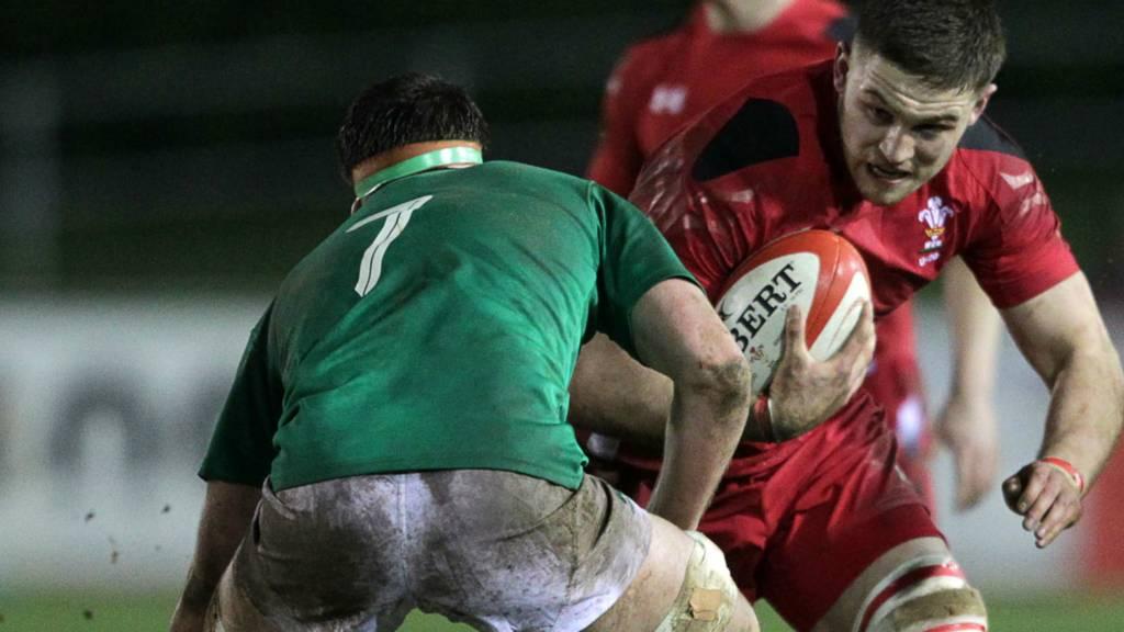 Wales' Harrison Keddie