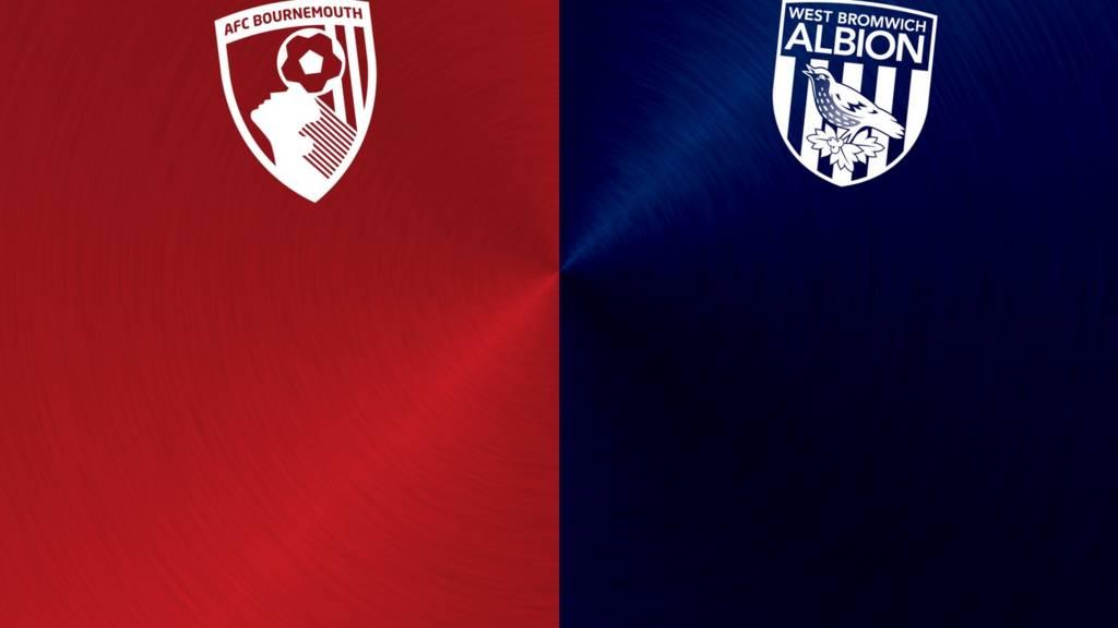 Bournemouth v West Brom badges