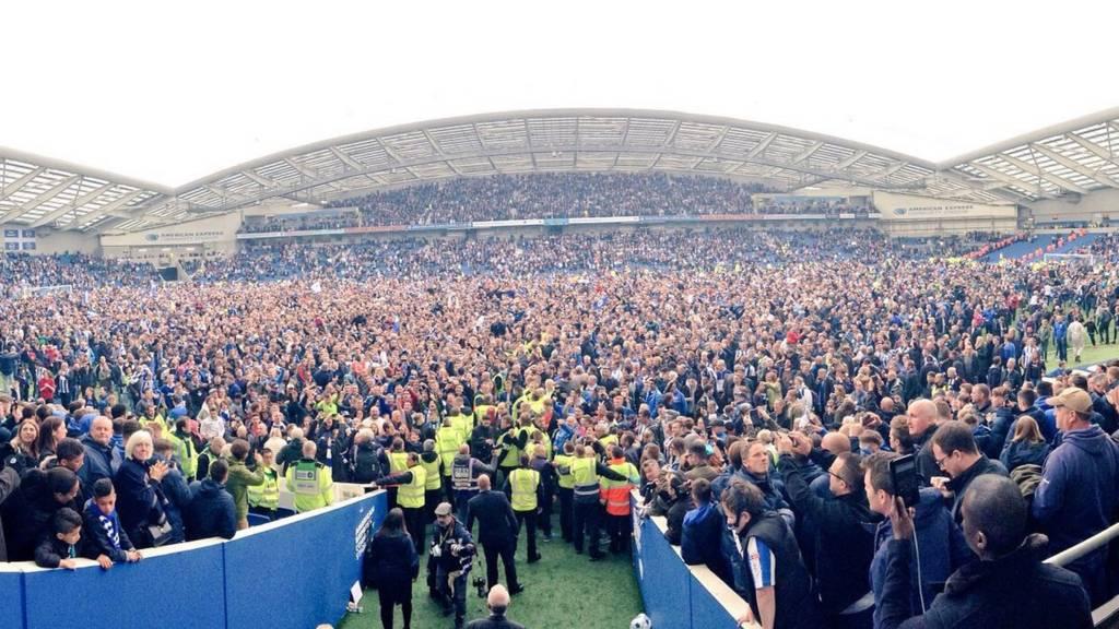 Brighton crowd