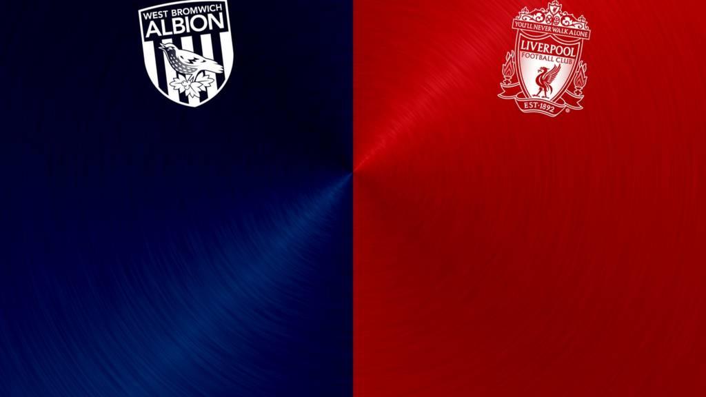 West Brom v Liverpool badges