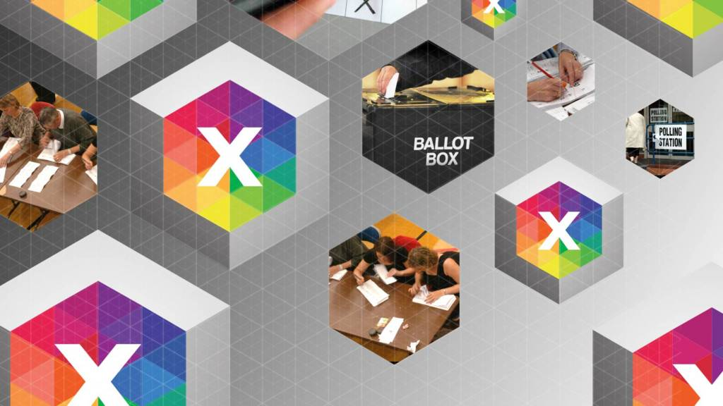BBC election branding