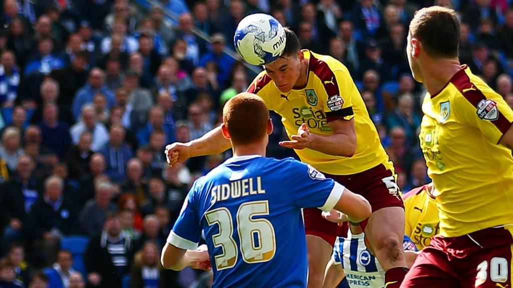 Michael Keane scores for Burnley