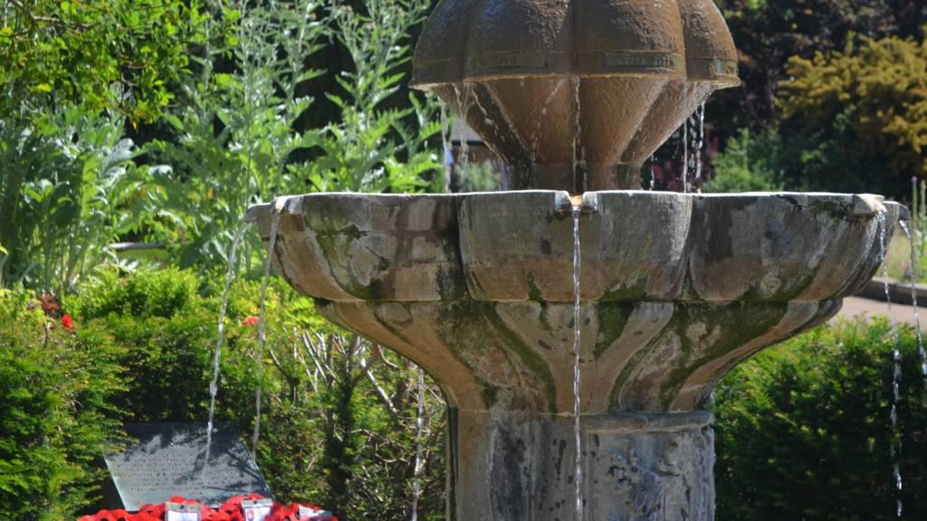 Jephson Gardens memorial