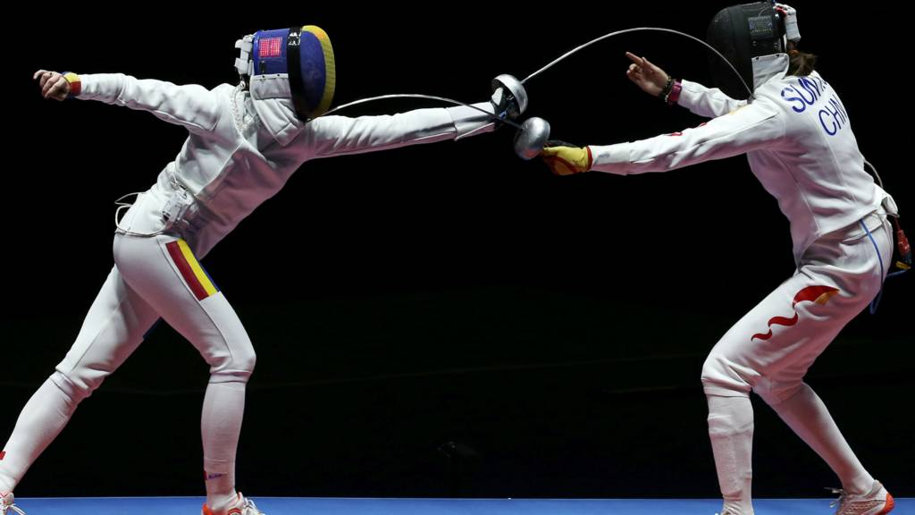 Fencing Women S Team Epee Final Live Bbc Sport