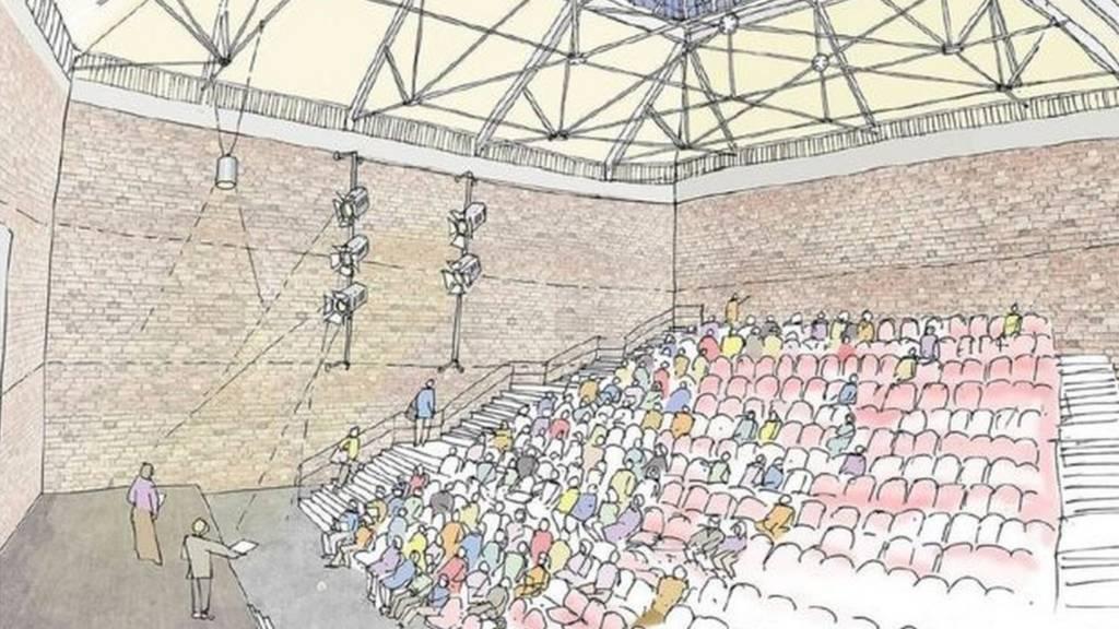 Artist's impression of Tolly Cobbold renovation