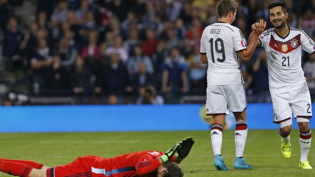 Scotland v Germany as it happened - Live - BBC Sport a40e2c294