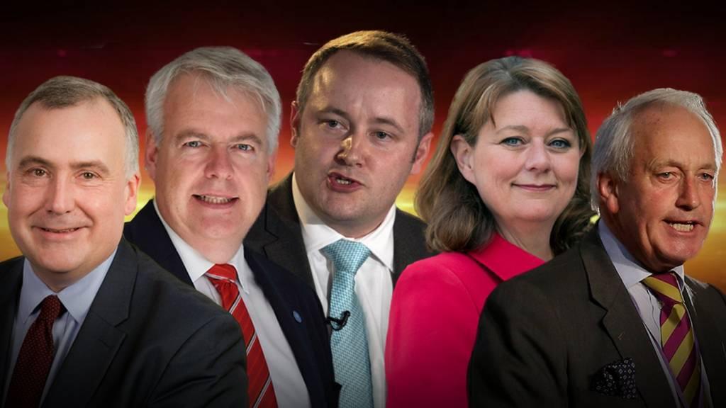 BBC Wales Leaders' Debate participants