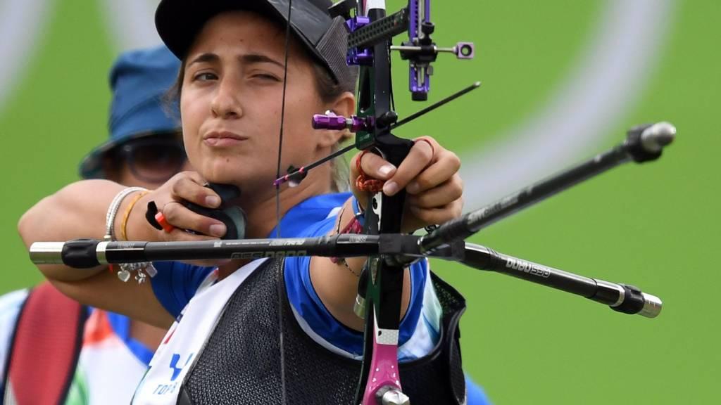 Italy's Claudia Mandia