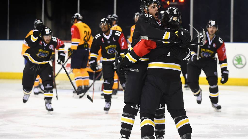 Nottingham Panthers celebrate