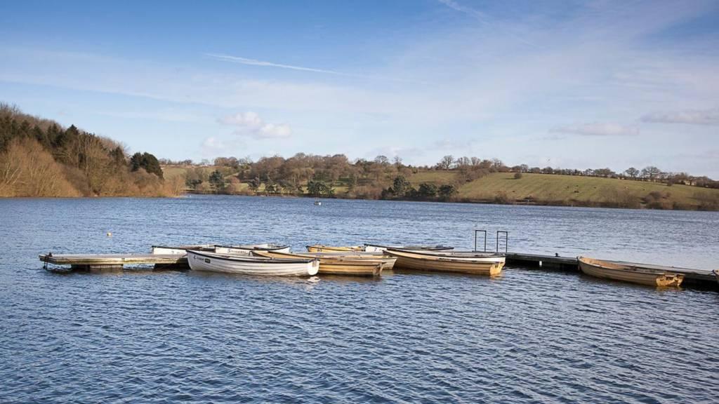 Boats on Thornton Reservoir