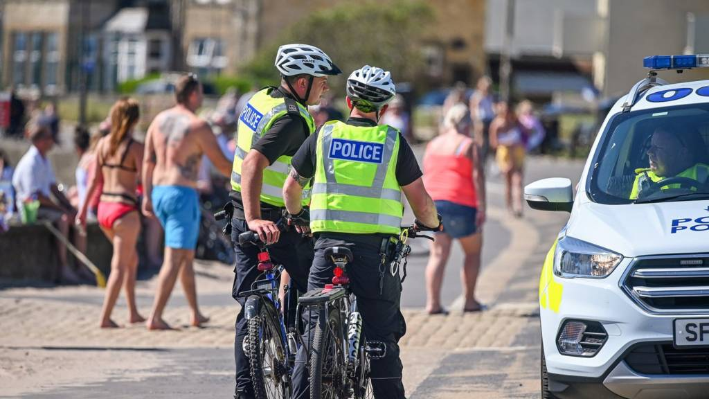 Police in Troon