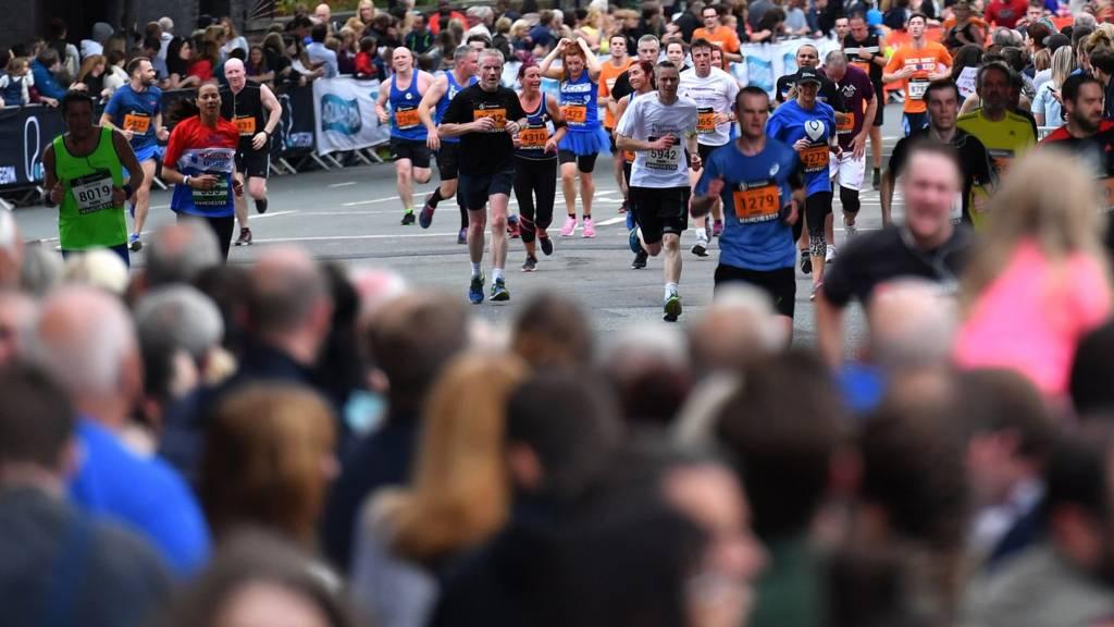 Manchester runners