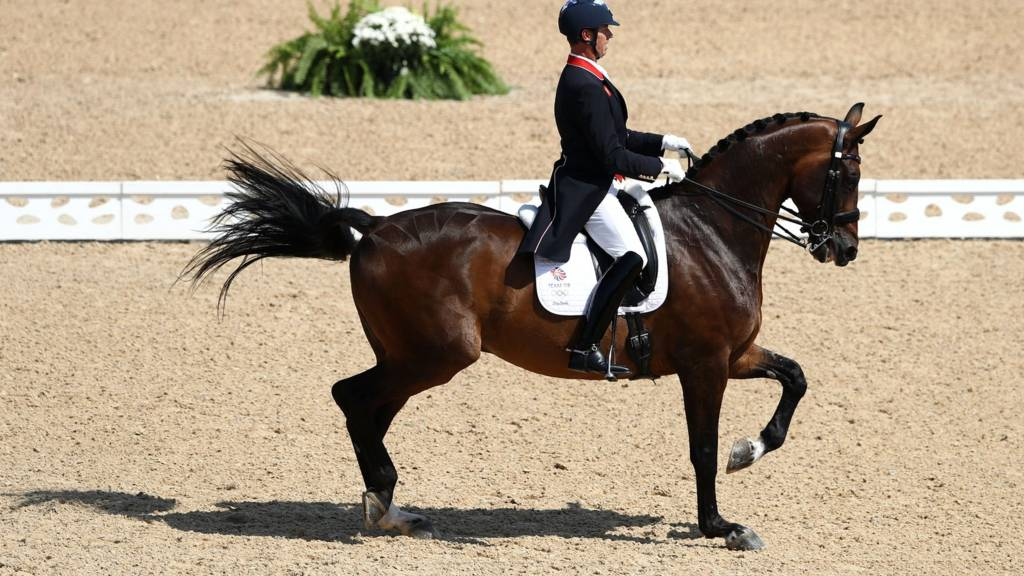 Carl Hester of Great Britain