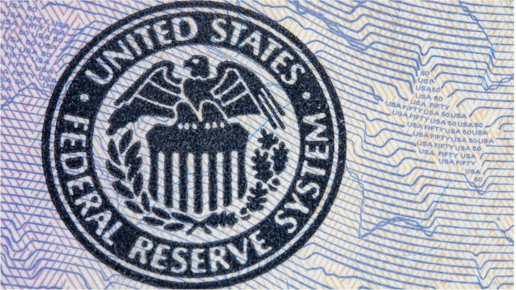 US Federal Reserve stamp