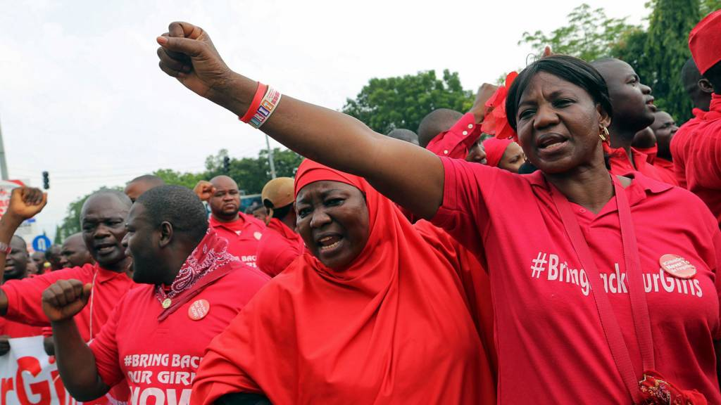 Bring Back Our Girls protesters