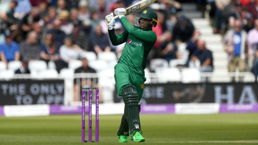 Pakistan batsman Fakhar Zaman