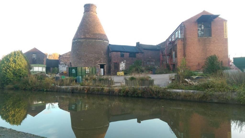 Former Price and Kensington Teapot factory in Longport Stoke