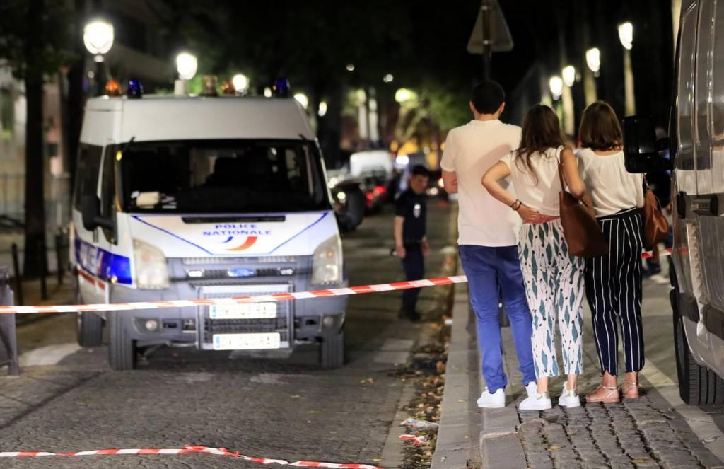 الشرطة طوقت مكان الحادث