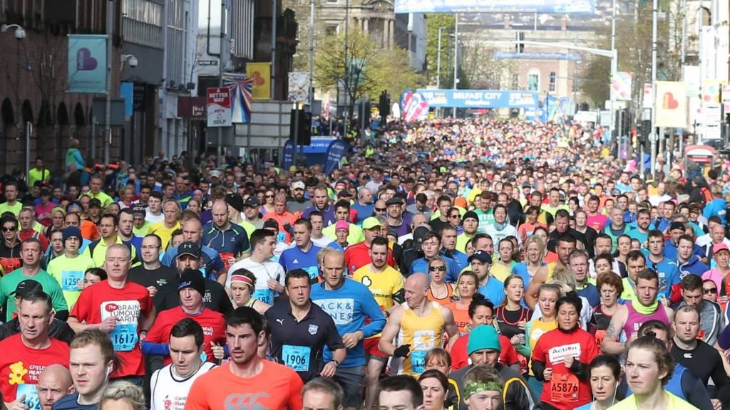 Marathon start 2016