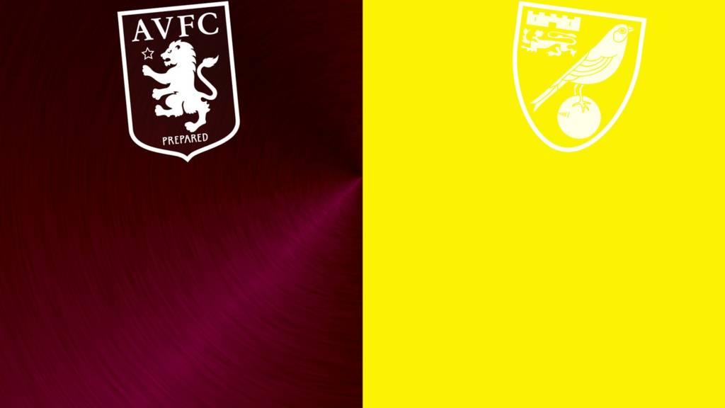 Aston Villa v Norwich