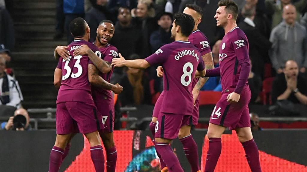 City celebrate third goal