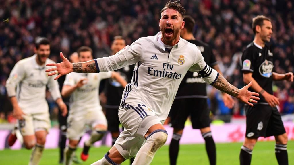 e8690c997 Real Madrid seal record unbeaten run with dramatic late winner